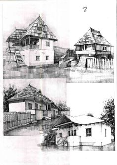Architectural Drawing Design Architecture drawing and sketches vladbucur. Architecture Sketchbook, Architecture Old, Classical Architecture, City Sketch, Building Sketch, Interior Design Sketches, Perspective Drawing, Famous Architects, House Drawing