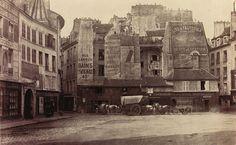 Charles MARVILLE - Place Saint André des Arts (6ème arr.), 1865-1868