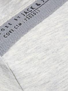 BRAND OCASIONAL IMPRESSO t-shirt, Tratada Branco