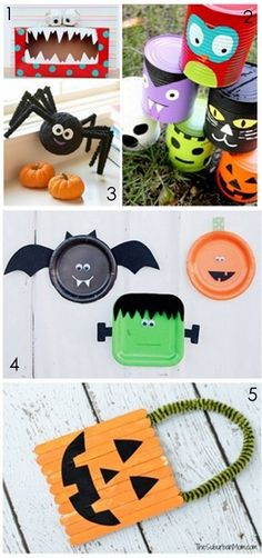 Halloween Crafts for Kids :: YummyMummyClub.ca