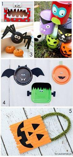 Halloween Crafts for Kids :: YummyMummyClub.ca