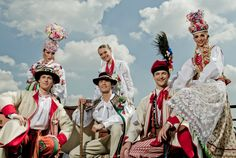 Polish folk wedding dresses