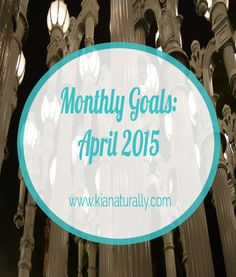 This post includes the goals that I hope to achieve in April as well as provides a recap of my progress on the goals I set for March.