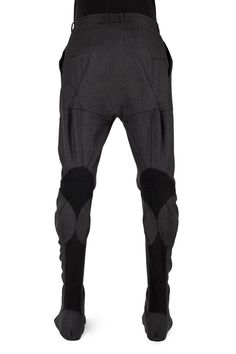 Aitor Throup Anatomy trousers-super cool!!!  could rip that back knee detail and make a new godet/gusset for DET LEE, too!