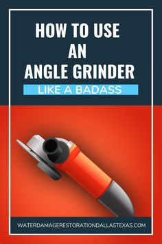 Learn how to use an angle grinder. This article is a brief discussion about its operations, different types of available wheels and pre/ post safety measures. Welding Courses, Angle Grinder, Pre And Post, Woodworking Techniques, Blogging For Beginners, Blog Tips, How To Start A Blog, Being Used, Angles