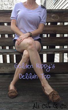 Ali Cat & Co.: Golden Rippy-Delilah Top