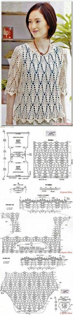 me encanto [] # # #Crochet #Dresses, # #Crochet #Tops, # #Bolero #Pattern, # #Cardigans, # #Crochet #Patterns, # #Stitches, # #Craft, # #Crochet, # #Fans