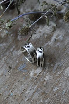 """https://flic.kr/p/p8RyP4   wedding rings for """"R&V"""""""