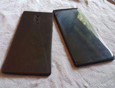 Se filtra una maqueta de lo que sería el Samsung Galaxy Note 8