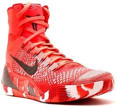 new style 3703f a6434 Amazon.com   NIKE Kobe IX 9 Elite Strategy Knit Stocking 630847-600 Crimson  Flyknit Men s Shoes (Size 9.5)   Shoes