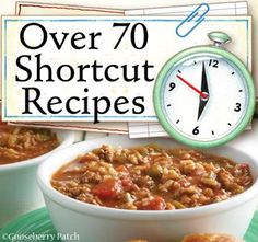 This week's Recipe Round-Up has over 70 Shortcut recipes linked so far!