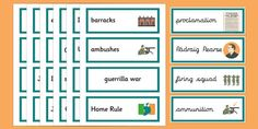 1916 Rising Vocabulary Flashcards