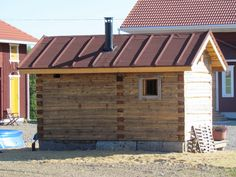 Pohjalaista unelmaa: Sauna Saunas, Finland, Animals And Pets, Shed, Barn, Outdoor Structures, Building, Outdoor Decor, Diy