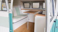 custom vw camper t1 interior