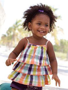 #Top para #bebé niña, muy #cómodo y #fresquito para que pase unos días de #verano inolvidables