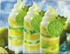 Lemonade Push Pops