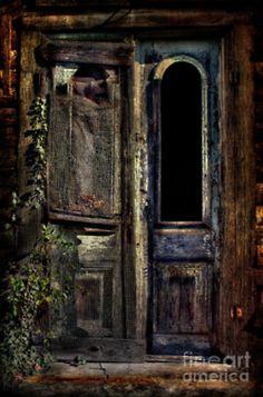 Double Door. Creepy yet beautiful