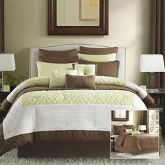 Avenue 8 Winchester 12 Piece Comforter and Coverlet Set - Sage - Queen by Avenue 8, http://www.amazon.com/dp/B008HCC66E/ref=cm_sw_r_pi_dp_wGN3qb0DPZBZH