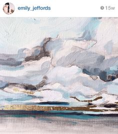 My most favorite painting ever done by Emily Jeffords. I would build a room around it.