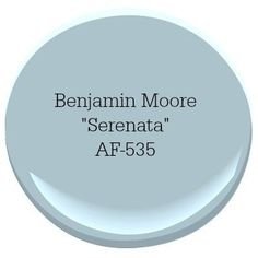 Benjamin Moore Serenata Coastal Paint Color A coastal-inspired color palette can turn your home into a relaxing escape. Our top picks for choosing the best coastal blue paint colors for your home. Coastal Paint Colors, Bedroom Paint Colors, Interior Paint Colors, Paint Colors For Home, Wall Colors, House Colors, Paint Colours, Blue Paint For Bedroom, Bathroom Colors