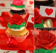 Beautiful Rose Cupcakes by theresahelmer.deviantart.com on @deviantART