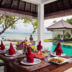 """Puri Tirta Villas Bali Island Indonesia. #rodeoand5th #luxury #travel"""
