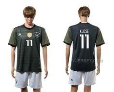 http://www.yjersey.com/germany-11-klose-away-euro-2016-jersey.html GERMANY 11 KLOSE AWAY EURO 2016 JERSEY Only 35.00€ , Free Shipping!