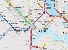 Ausschnitt S bahn Luzern