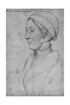 size: Giclee Print: Anne Boleyn', by Hans Holbein the Younger : Tudor History, European History, Art History, British History, History Facts, Historical Women, Historical Photos, Hans Holbein The Younger, The Royal Collection