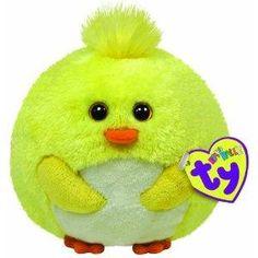 Ty Beanie Ballz - Eggbert the Yellow Chick 9fd076bf5df4