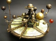 Orrery at the Oxford's Museum of the History of Science