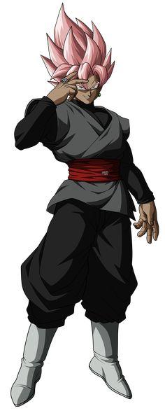 Black Dragon Ball FighterZ inspired art