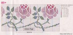 Вышиваем розы на скатерти и салфетках. Схемы (10) (700x335, 201Kb)