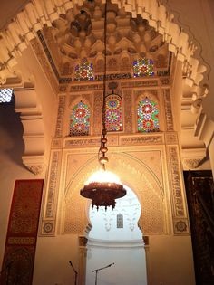 Mosque's beautiful interior