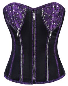 Check out this item on The Violet Vixen Violet Outburst Corset #thevioletvixen