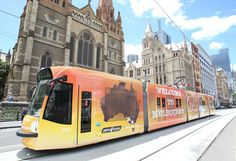 A tram was covered for Oprah's visit. Yes some thought it was a little overload, but we enjoyed hosting her guests when they did a walk with us