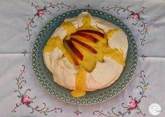 Coisas simples são a receita ...: Pavlova com mascarpone e creme de manga