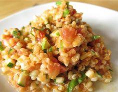 Une salade rafraichissante aux légumes d'été