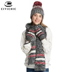 dc965cdf04e woman winter hat and gloves sets cotton fashion women hat scarf gloves set  solid hat and scarf set for women knitted