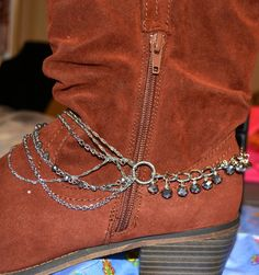 Boot Jewelry Boot Wrap Boot Bling Boot Bracelet by CowgirlUpLadies, $14.00