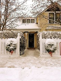 This is definitely on my bucket list❅Christmas in the snow ❅