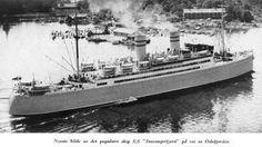 SS Stavangerfjord | Norwegian America Line - Den norske Amerikalinje - Oslofjord ...