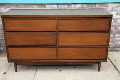 Mid Century Modern Dresser by reclaimedhome on Etsy
