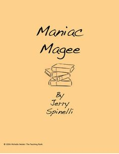 This is a custom written literature unit to be used with Maniac Magee by Jerry Spinelli.This unit is designed to be used with some student/instruct...