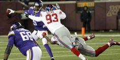 Giants vs Vikings Live: Monday Night Football