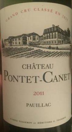 2011 Château Pontet-Canet