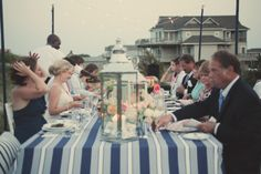 One of the most scenic, stunningly gorgeous venues to hold an intimate wedding at Sanderling is our Ocean Deck. See more from this romantic wedding at Sanderling! Photo by L. Henry Photography