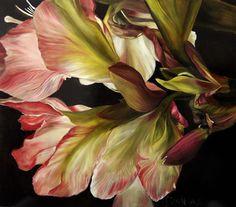 Diana Watson, Figurative and Still Life Australian Artist, Paintings - Isola dei Fiori Series