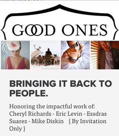 Great event hosted by the #GoodOnes to honor great photographer's in #Boston.
