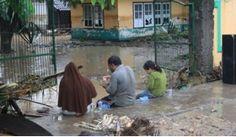 Bima Sunyi dan Lumpuh, Banjir Rendam Seluruh Kota